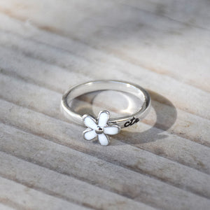 CTR Designer Daisy Ring - Stainless Steel
