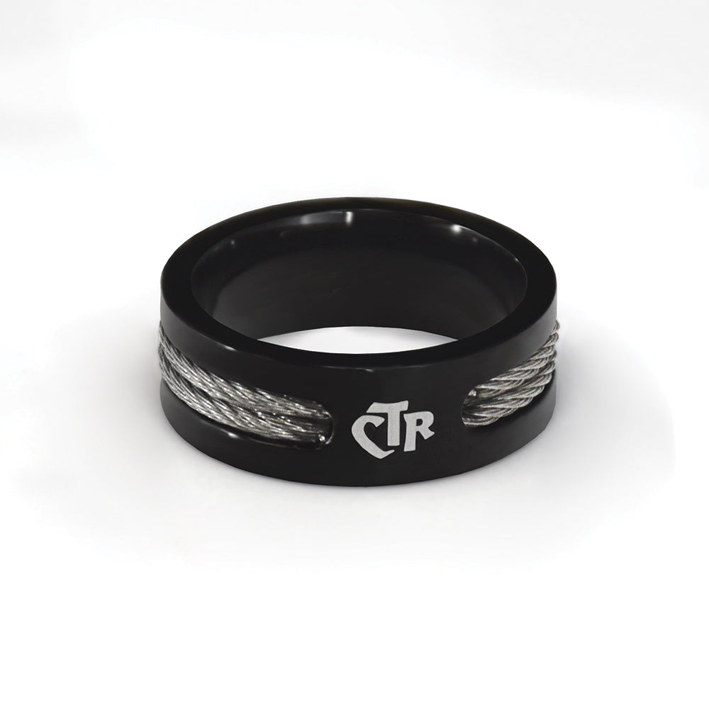 CTR Men's Designer Wired Ring