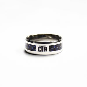 CTR Men's Designer Matrix Ring - Stainless Steel