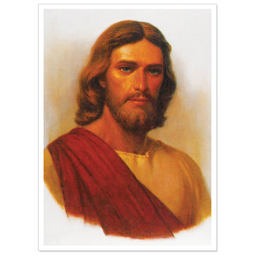 "Christ in Red Robe Print - 3x4"" 50 pack"