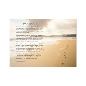 Footprints Poem