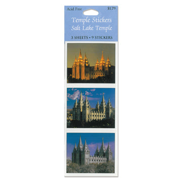 Salt Lake Temple Photo Stickers