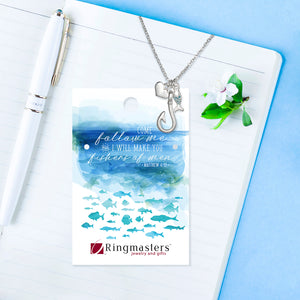 Fishers Of Men Charm Necklace