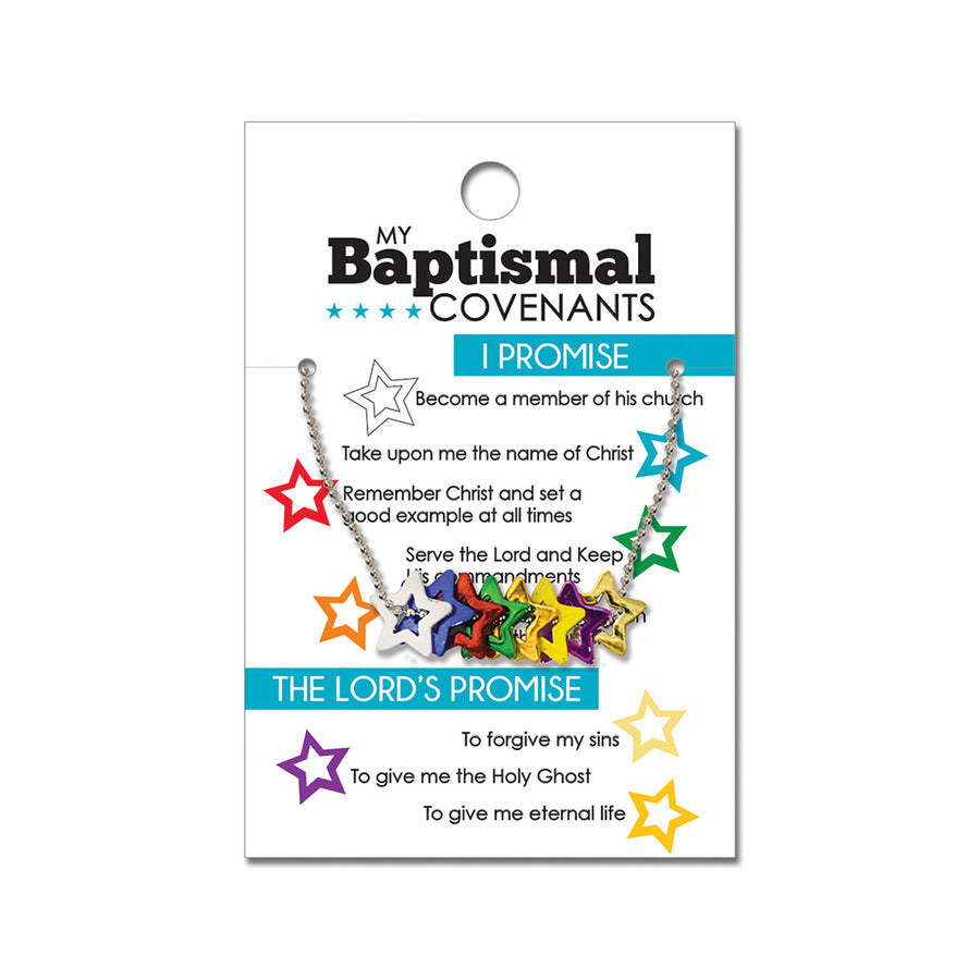 Baptism Covenant Star Necklace