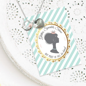 Glitter Sparkle Shine Necklace