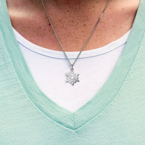 Kindness Snowflake Necklace