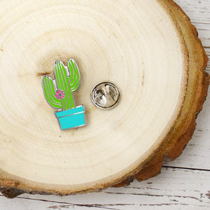 I Love Everything About You Even The Prickly Parts - Cactus Enamel Pin