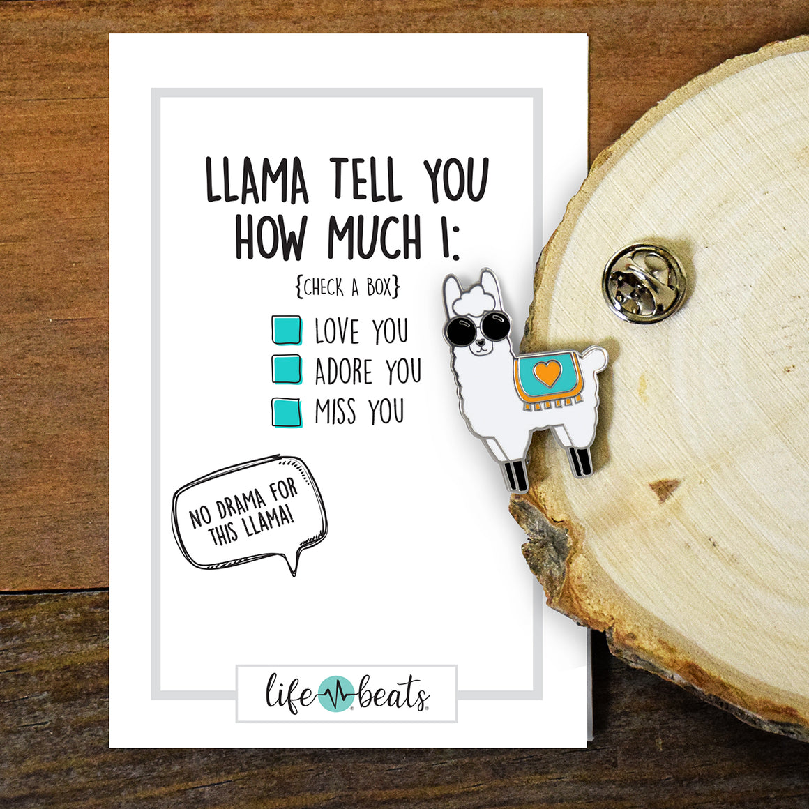 Llama Tell You Pin