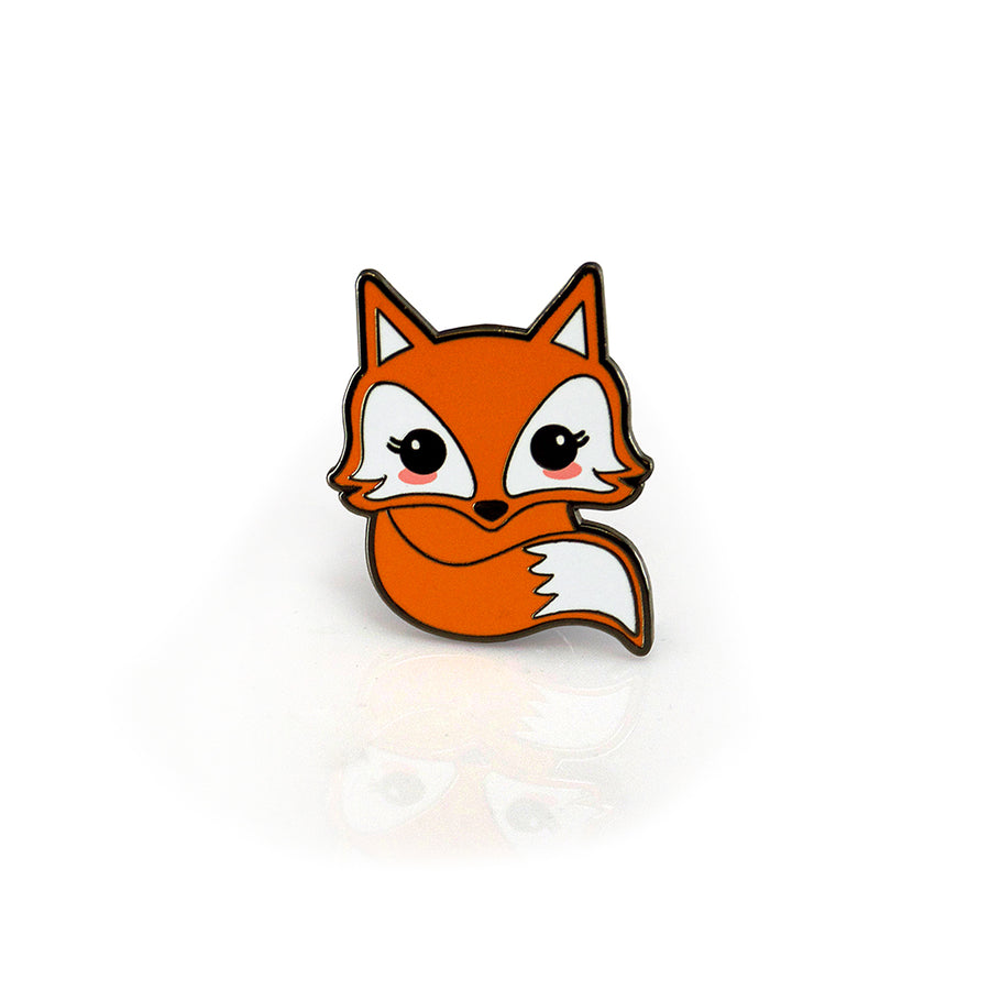 Stay Clever - Fox Enamel Pin