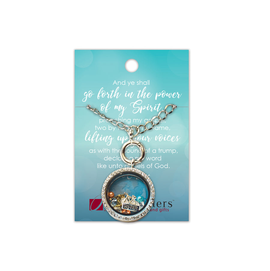 Missionary Charm Locket Necklace