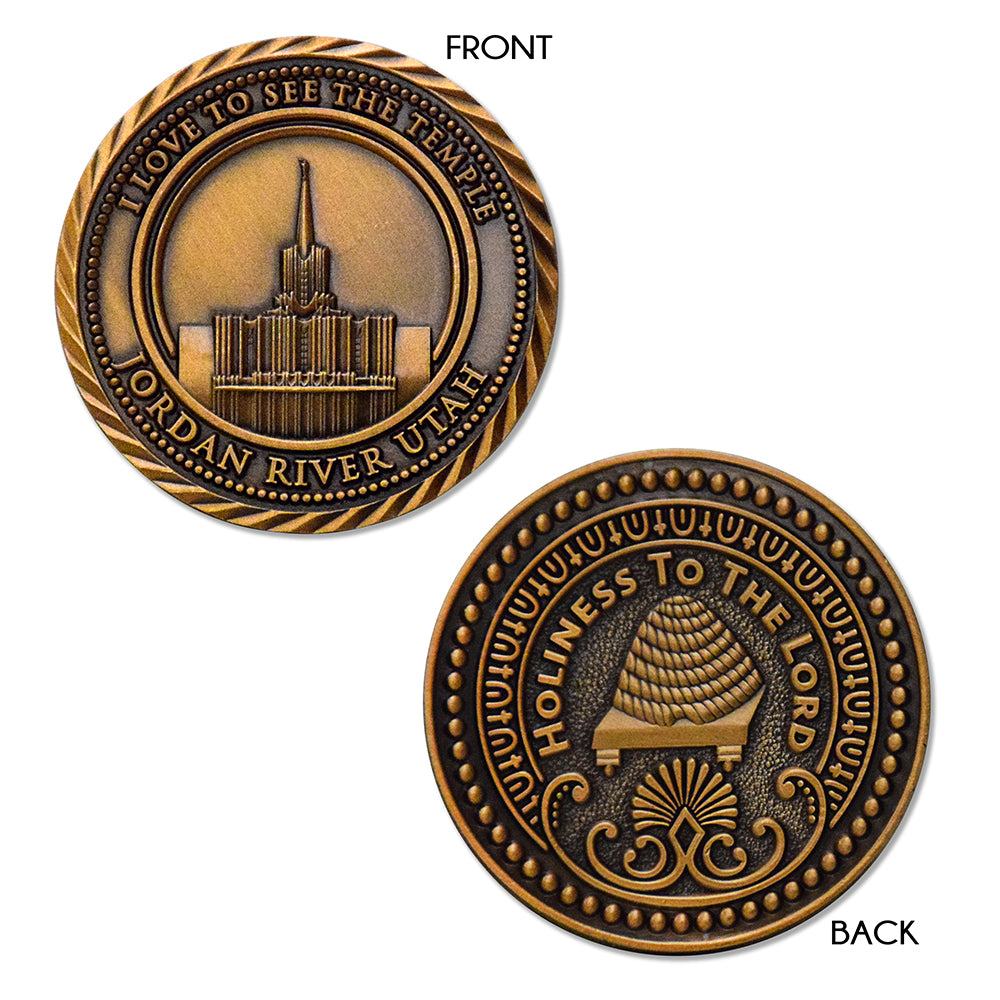Jordan River Temple Coin