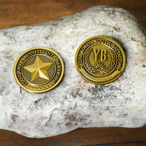 The Lords Youth Battalion Collectible challenge coin Latter-day saint