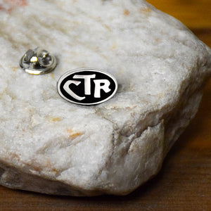 Choose The Right or CTR Black and Silver Pin