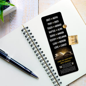Liken The Scriptures Unto Yourself Pin & Bookmark