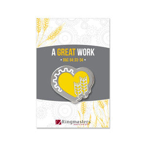 A Great Work Enamel Pin