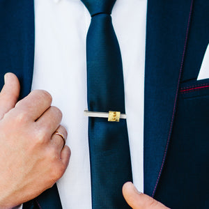 Golden Plates Tie Bar