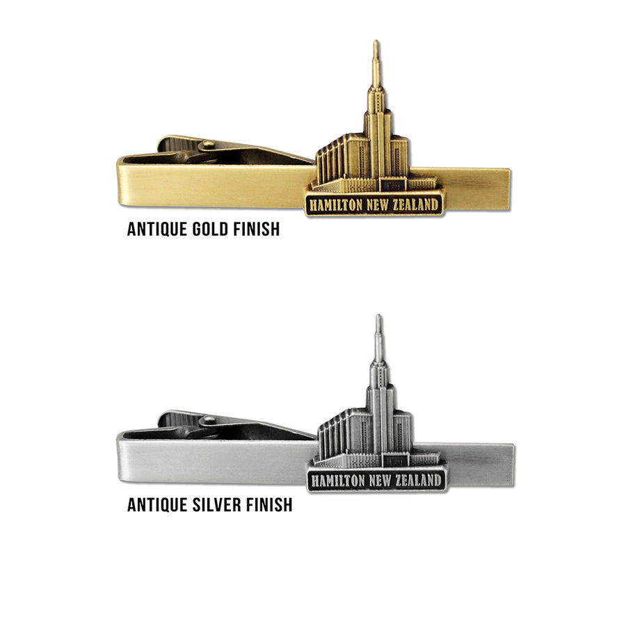 Hamilton New Zealand Temple Tie Bar