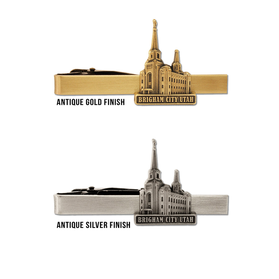 Brigham City Utah Temple Tie Bar