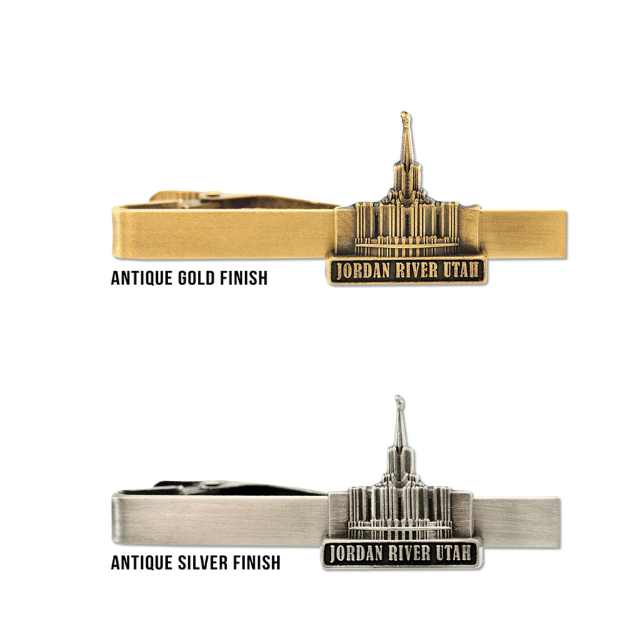 Jordan River Utah Temple Tie Bar