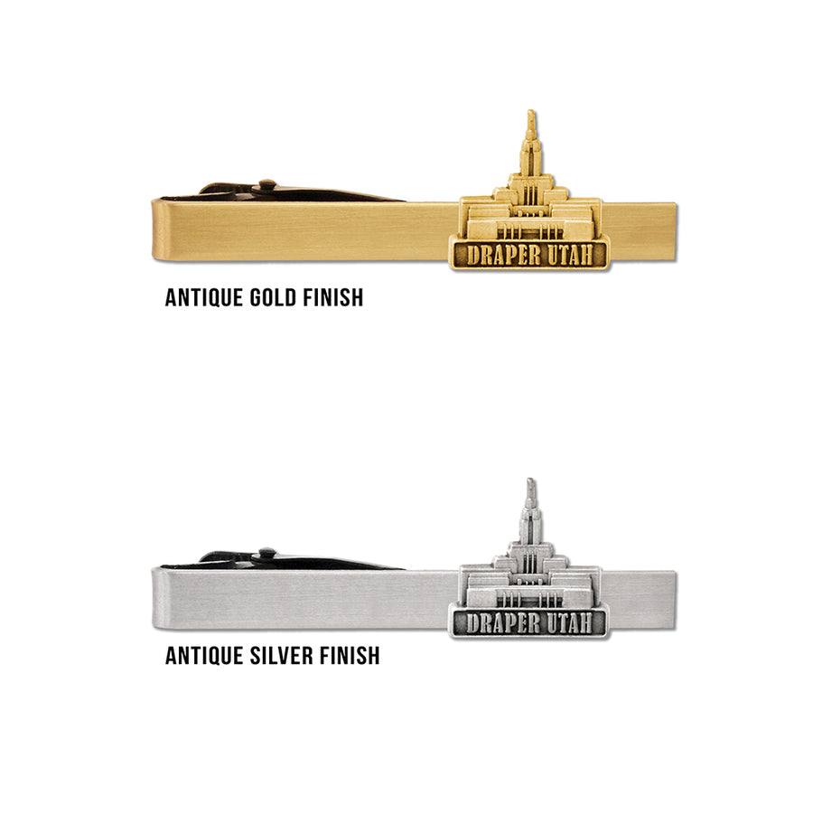 Draper Utah Temple Tie Bar