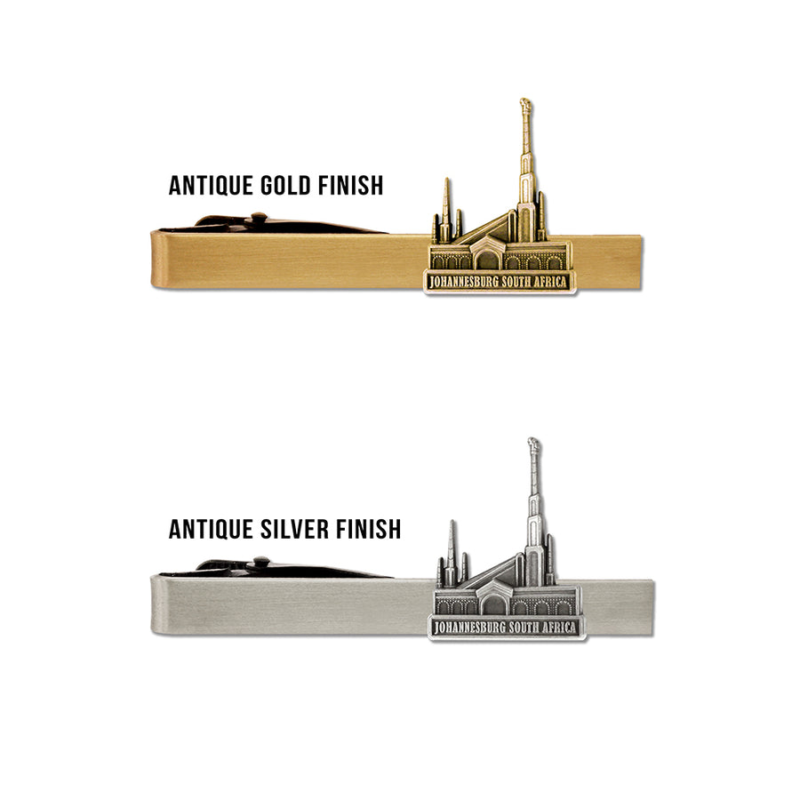 Johannesburg South Africa Temple Tie Bar
