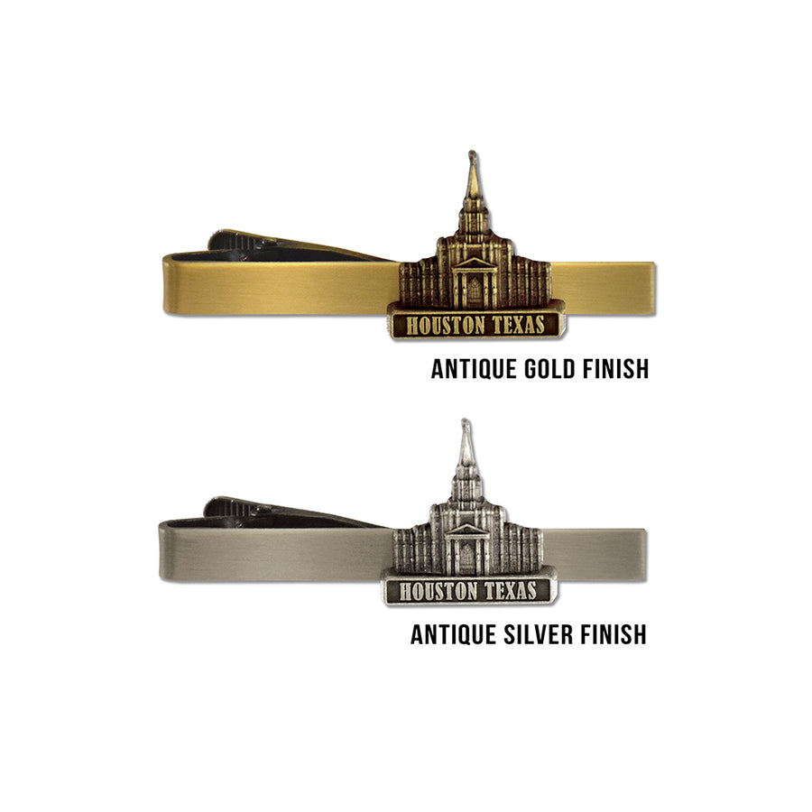 Houston Texas Temple Tie Bar