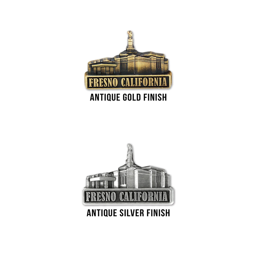 Fresno California Temple Pin