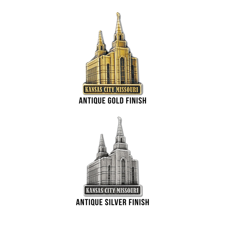 Kansas City Missouri Temple Pin