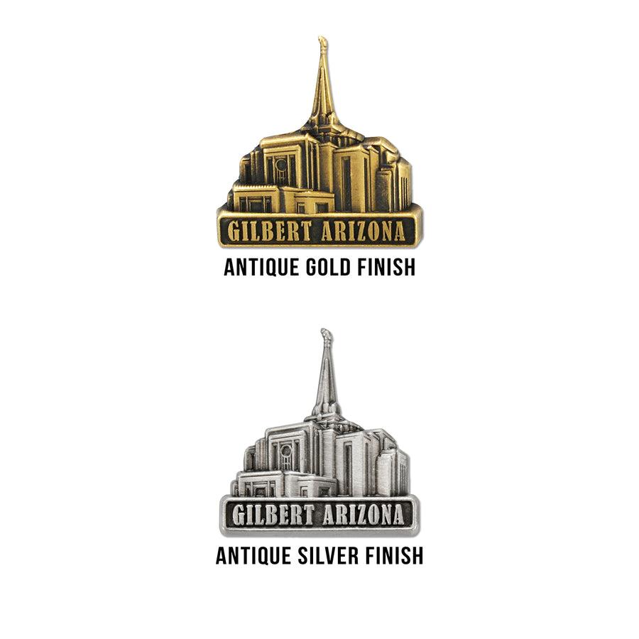 Gilbert Arizona Temple Pin