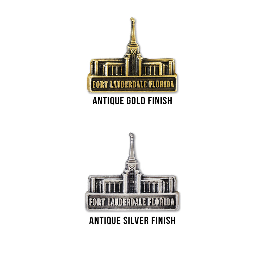 Fort Lauderdale Florida Temple Pin