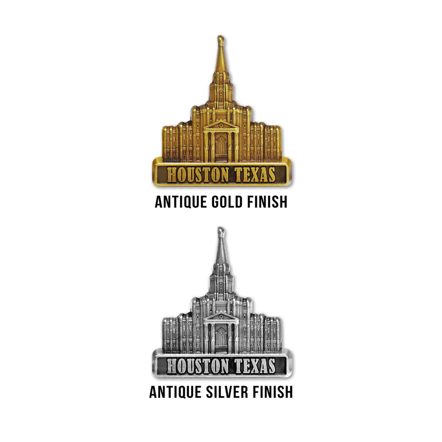 Houston Texas Temple Pin