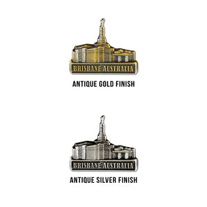 Brisbane Australia Temple Pin