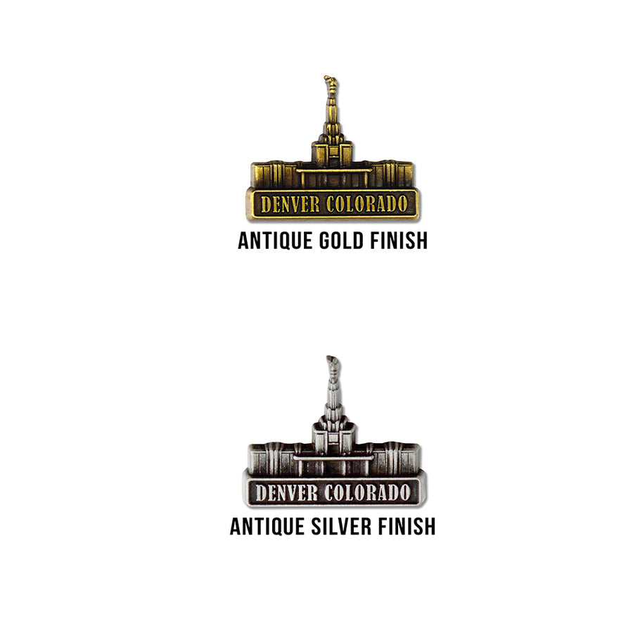 Denver Colorado Temple Pin