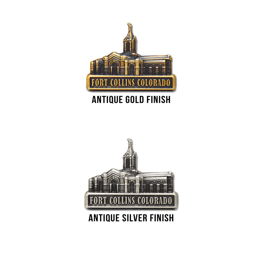 Fort Collins Colorado Temple Pin