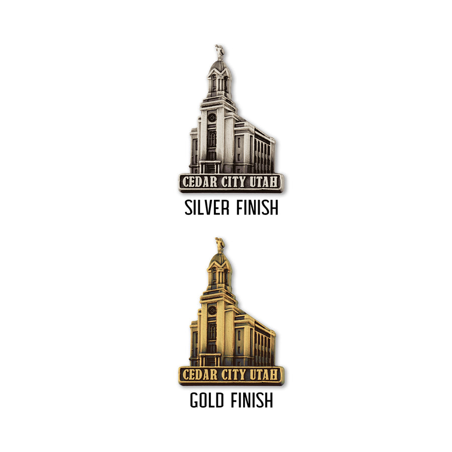 Cedar City Utah Temple Pin