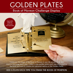 Golden Challenge Plates Display