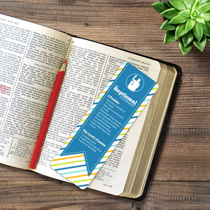 Baptism Covenant Bookmark