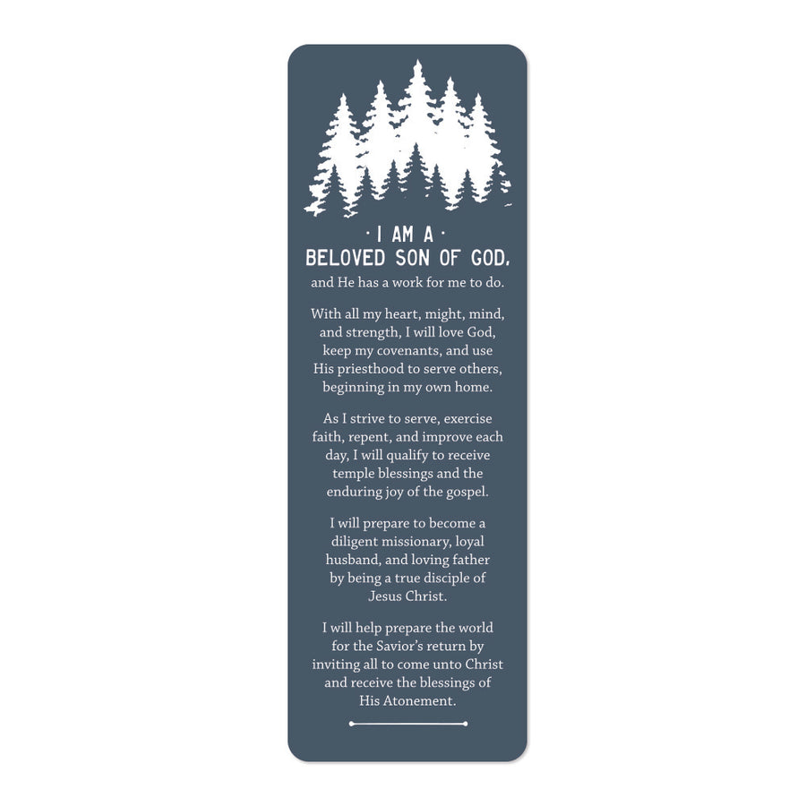 Young Men's Theme Bookmark