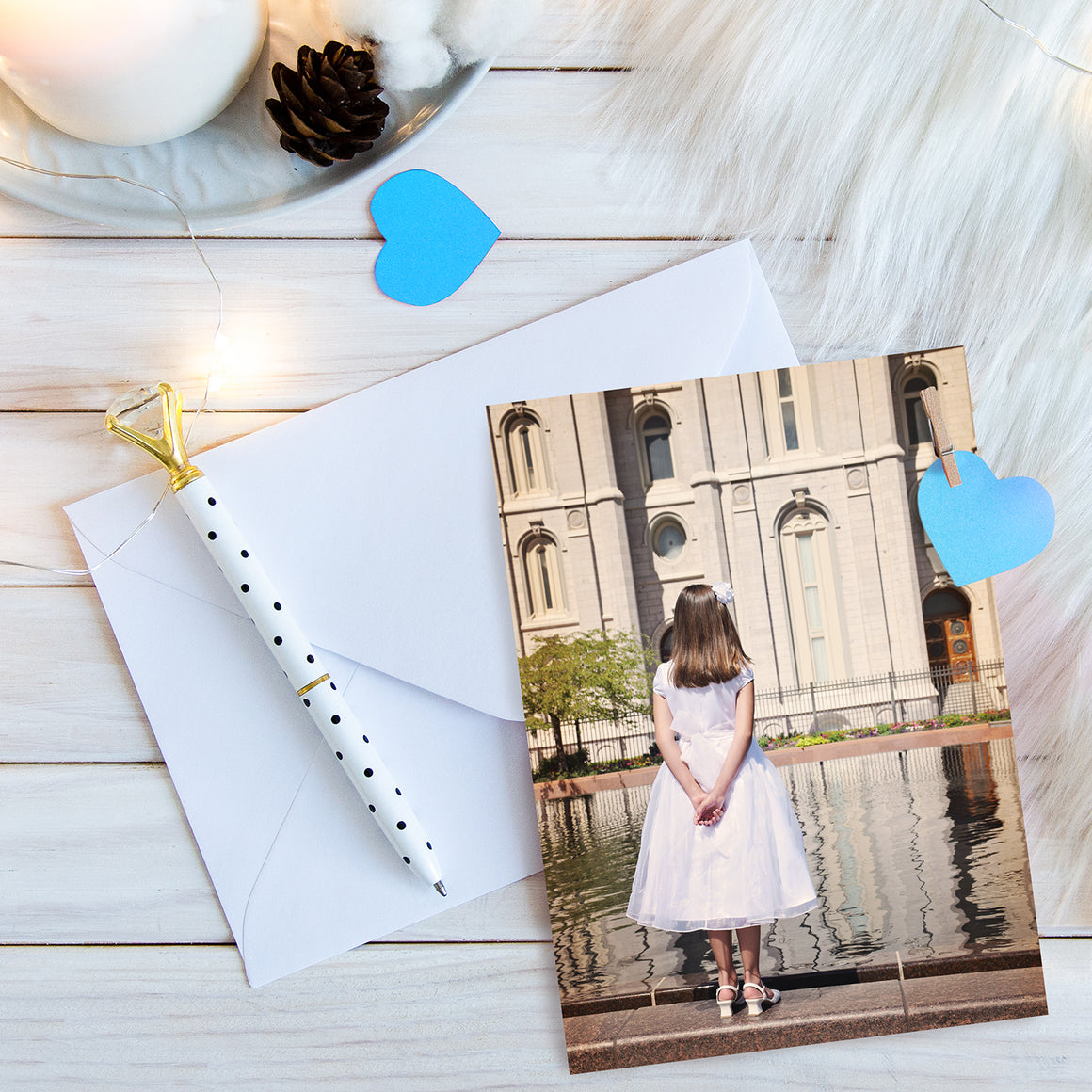 Baptism Reflection Greeting Card