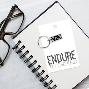 Endure To The End - ETTE Zipper Pull