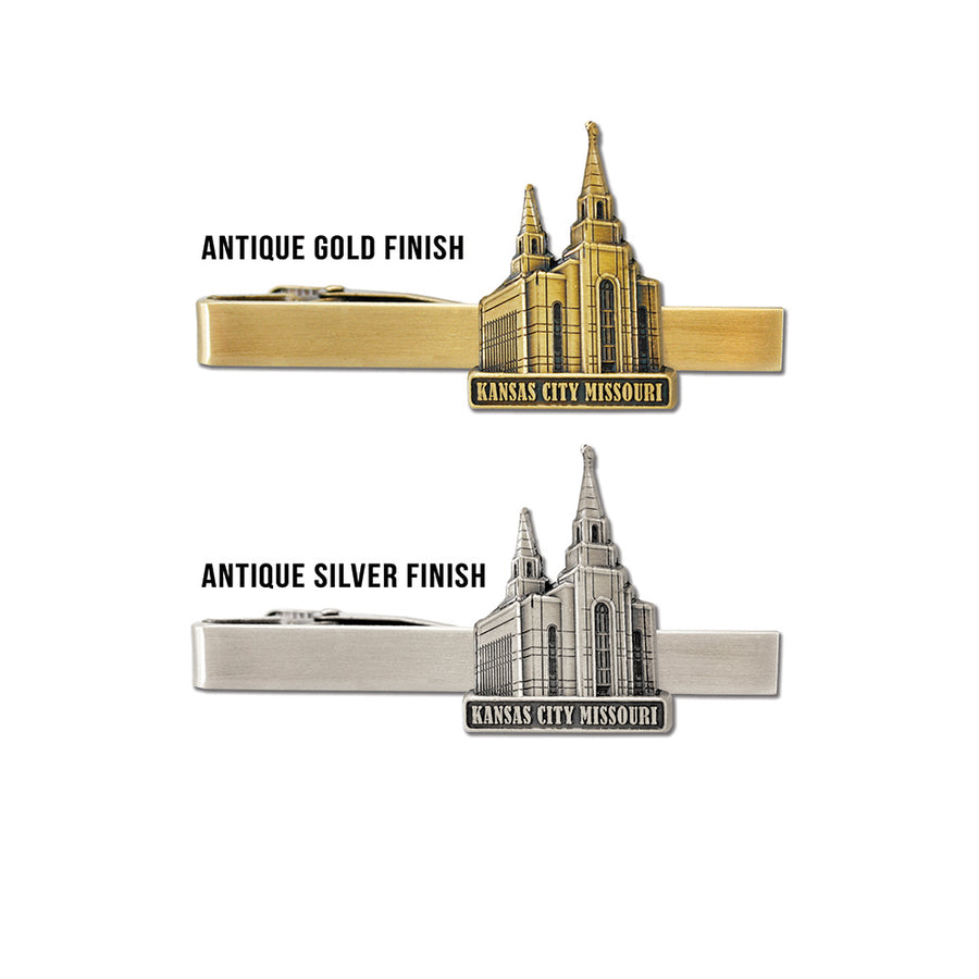 Kansas City Missouri Temple Tie Bar
