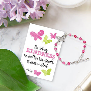 Kindness Butterfly Bracelet