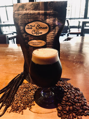 Introducing: ELECTRIC FUNERAL Craft Beer made with 22nd Street Coffee
