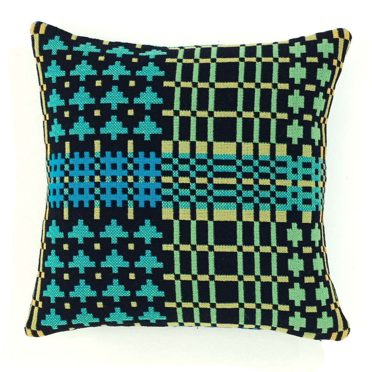 Field Day cushion - black forest