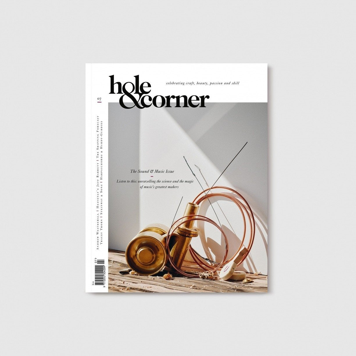Issue 07: Sound & Music