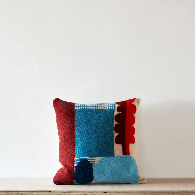 Koyo cushion - blue
