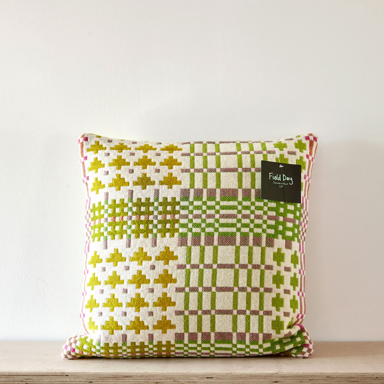 Field Day cushion - spring
