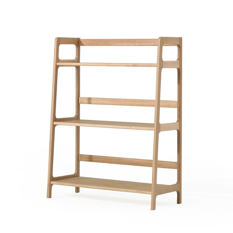Agnes medium shelving unit - oak