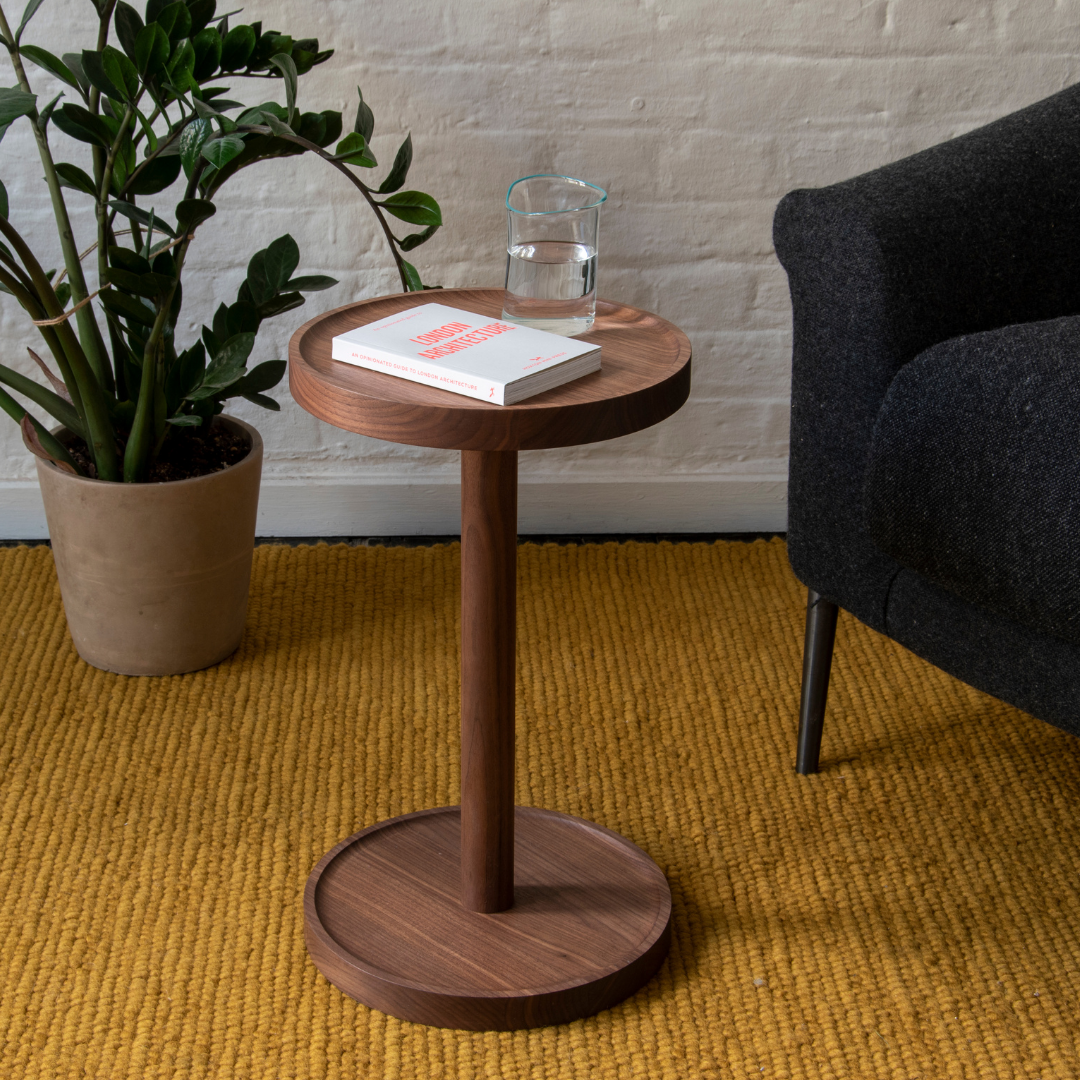 Cooper side table - Walnut