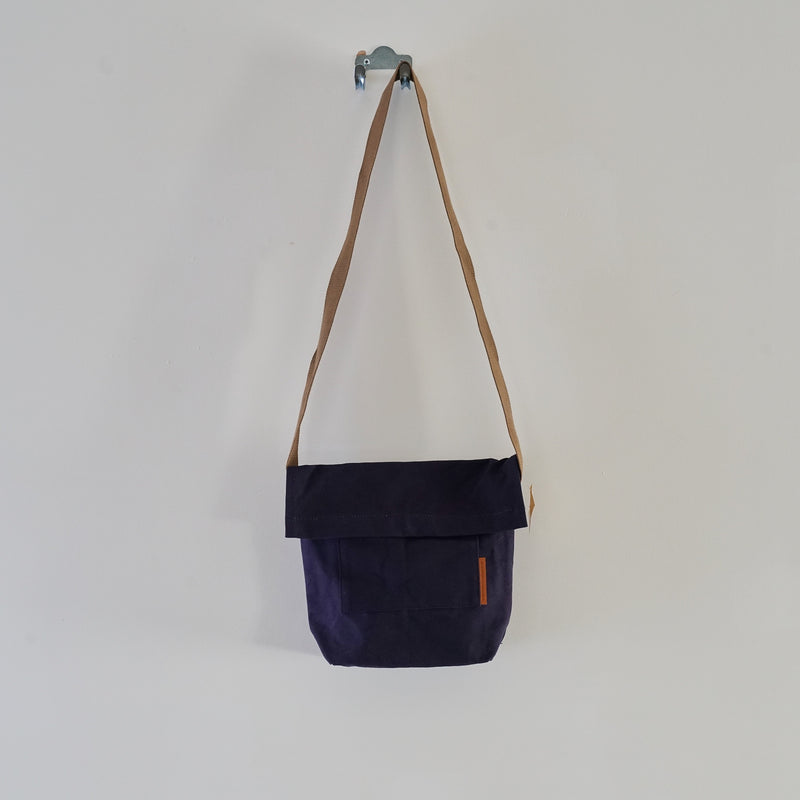 Small canvas satchel
